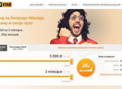 Pożyczka creditstar w 15 minut